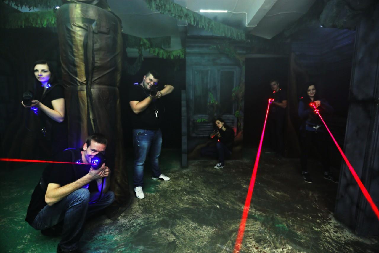 Laser games Praha