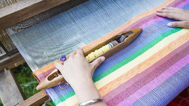 Tkaní tapiserie je um